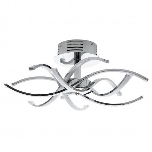 Casa Bosworth 6 Ceiling Light, Led, Chrome