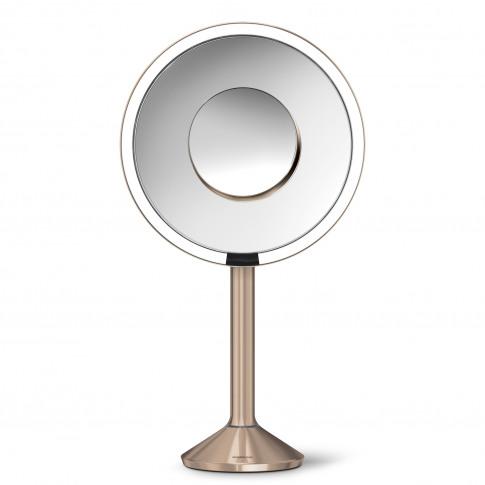 Simplehuman Sensor Mirror Pro, 20cm, Rose Gold