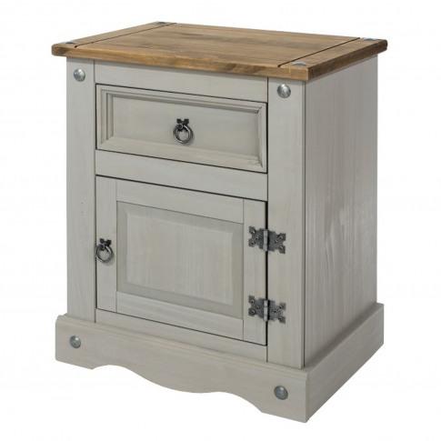 Connor 1 Door 1 Drawer Bedside Table
