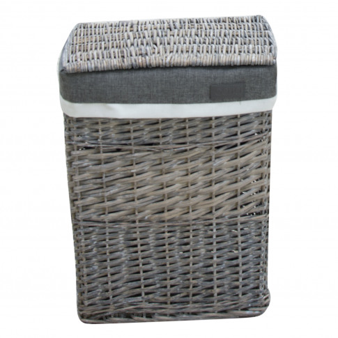 Small Laundry Basket, Grey