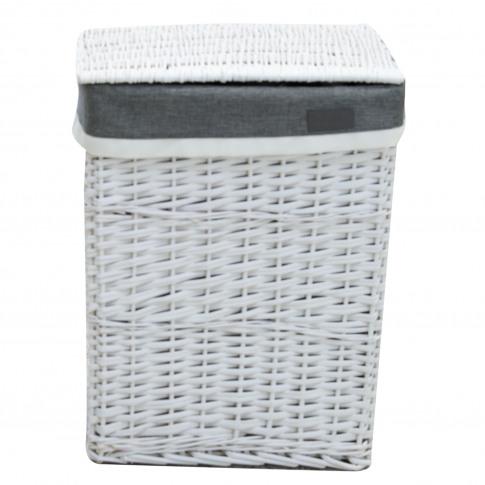 Large Laundry Basket, White