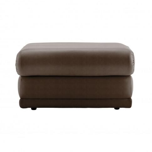 G Plan Malvern 17 Leather Footstool