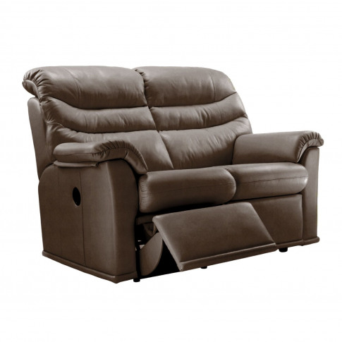G Plan Malvern 17 2 Seater Left Manual Recliner Leat...