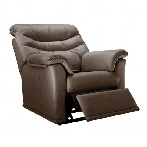 G Plan Malvern 17 Power Recliner Leather Armchair