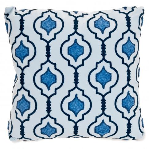 Casa Moroccan Nights Cushion, Blue
