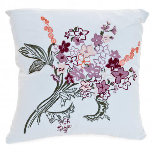 Casa Fancy Floral Bouquet Cushion