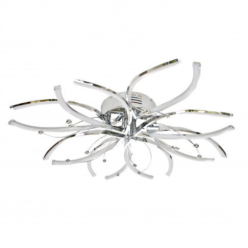 Casa Hawes 8 Ceiling Light, Led, Chrome
