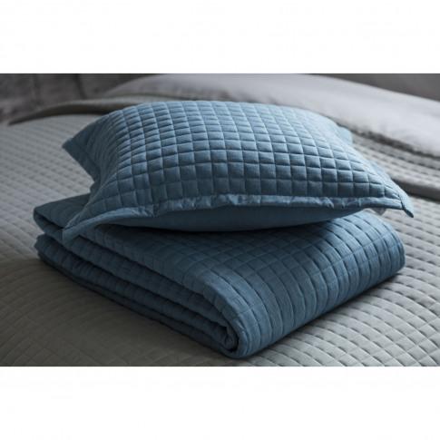 Belledorm Crompton Cushion, Cobalt