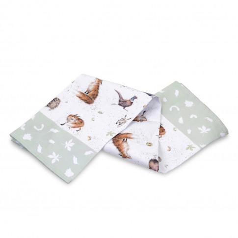 Portmeirion Wrendale Tea Towel, Green