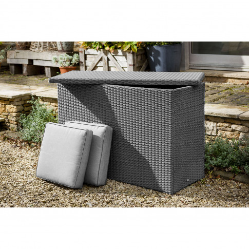 Hartman Casa Outdoor Cushion Storage Box, Large, Sla...