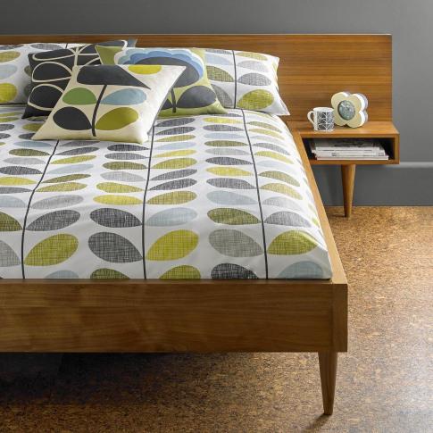 Orla Kiely Scribble Stem Housewife Pillowcase Pair, ...