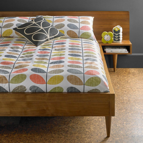 Orla Kiely Scribble Stem Housewife Pillowcase Pair
