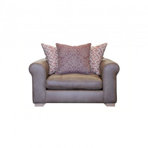 Alexander & James Pemberley Snuggler Leather Armchair