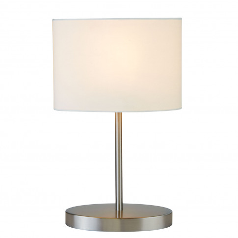 Casa Table Lamp Oval, Silver