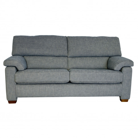 Casa Henry 3 Seater Large Fabric Sofa