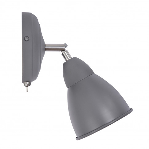 Garden Trading Chiswick Wall Light, Charcoal Steel