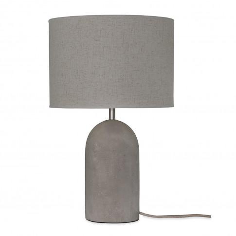 Garden Trading Millbank Bullet Table Lamp, Polymer C...