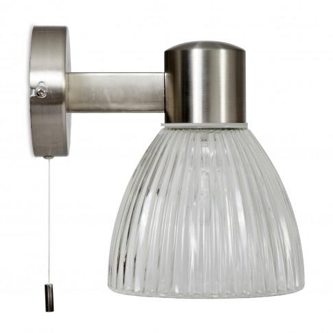 Garden Trading Campden Bathroom Wall Light, Satin Ni...