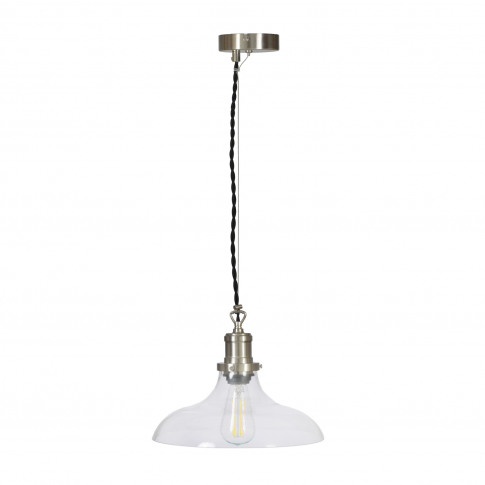 Garden Trading Hoxton Pendant Light, Glass