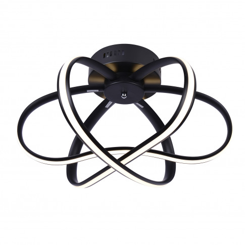 Casa Helena 3 Ceiling Light, Black