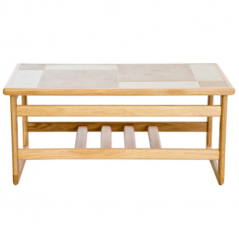Casa Amber Tile Top Small Coffee Table