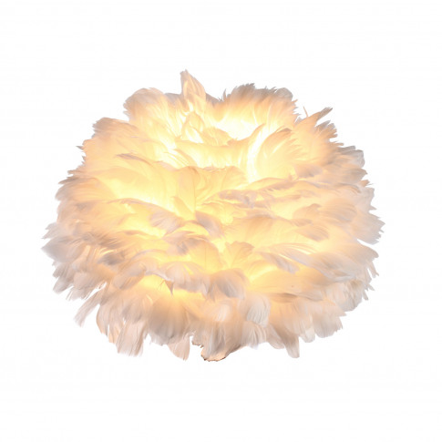 Heron 20cm Ceiling Lamp Shade, White