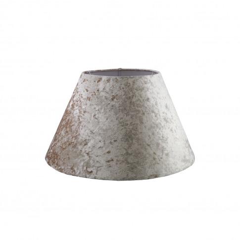 """20"""" Velvet Empire Lamp Shade, Mink"""