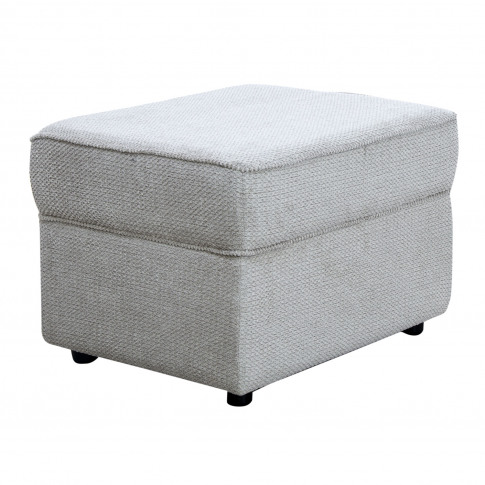 Casa Alpha Storage Fabric Footstool