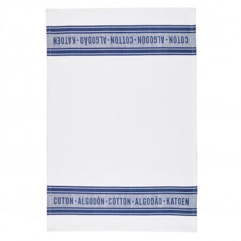 2 Pack Jacquard Blue Tea Towels
