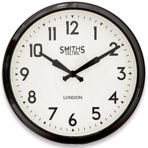 Brookpace Lascelles Smiths Wall Clock Arabic, Large,...