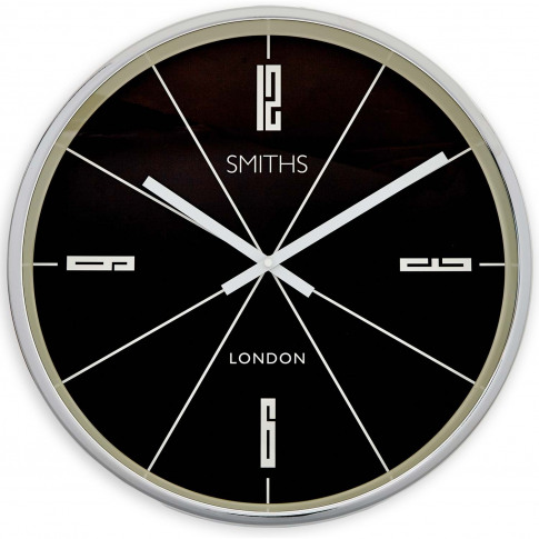 Brookpace Lascelles Smiths Downing Wall Clock, Large...
