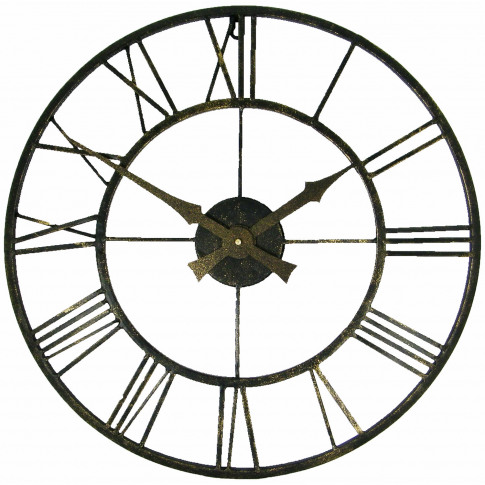 Brookpace Lascelles Vintage Outdoor Wall Clock, Vint...