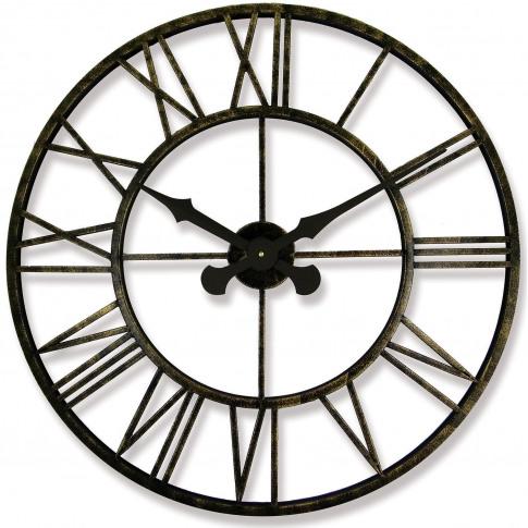 Brookpace Lascelles Vintage Outdoor Clock, Vintage R...