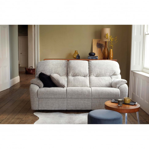 G Plan Mistral 3 Seater Left Manual Recliner Fabric ...