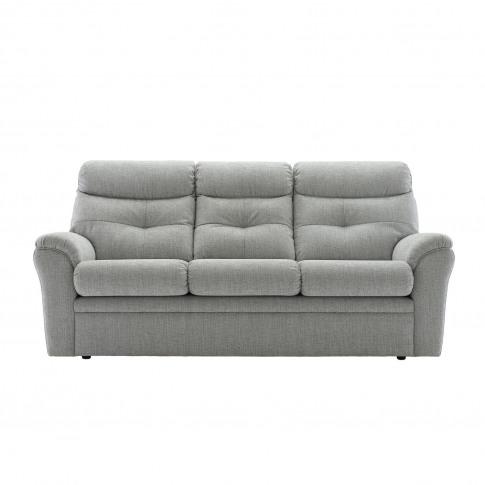 G Plan  Newton 3 Seater Static Fabric Sofa