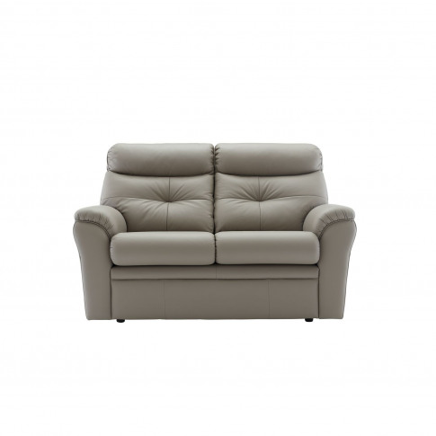 G Plan Newton 2 Seater Manual Recliner Leather Sofa