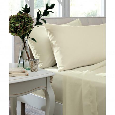 Turner Bianca Housewife Pillowcase Pair, Ivory