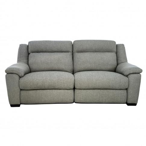 Casa Dallas 2.5 Seater Manual Recliner Fabric Sofa