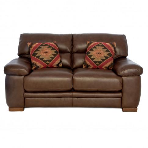 Casa Artemis 2 Seater Leather Sofa