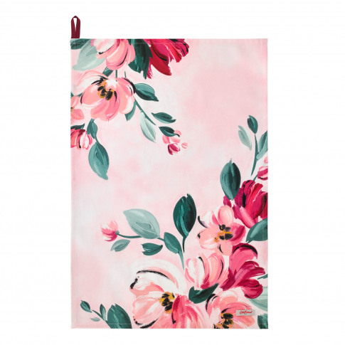 Cath Kidston Tea Towel, Paintbox Flowers Print