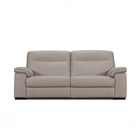 Casa Harley 3 Seater Leather Sofa