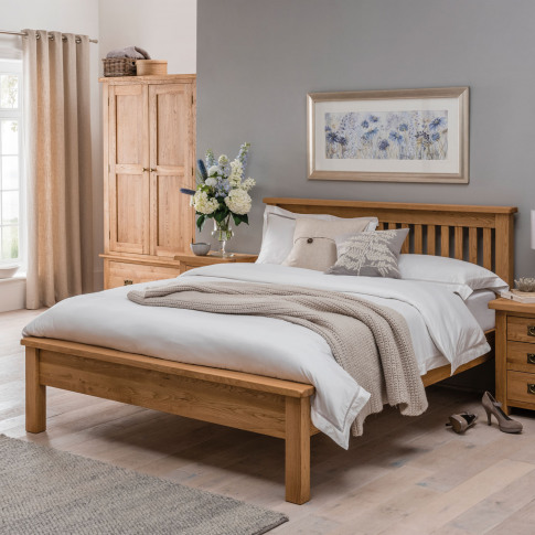 Casa Seville Low Foot End Bed Frame, Double