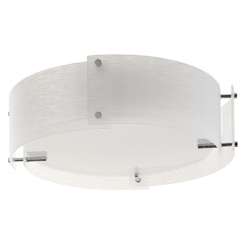Searchlight  Trinity 3 Light Pendant, Frosted Glass