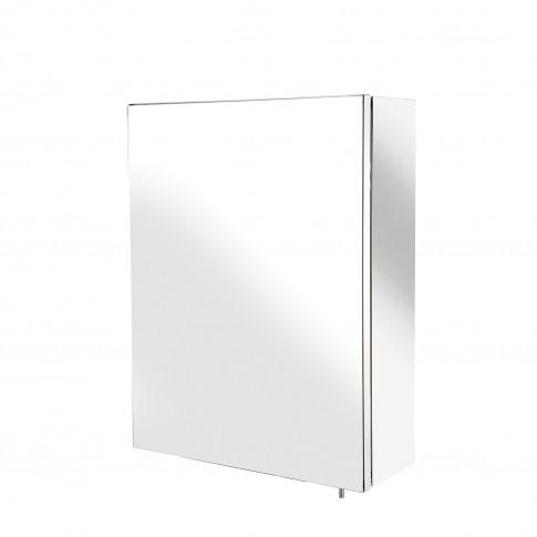 Croydex Avon Single Door Cabinet, Stainless Steel