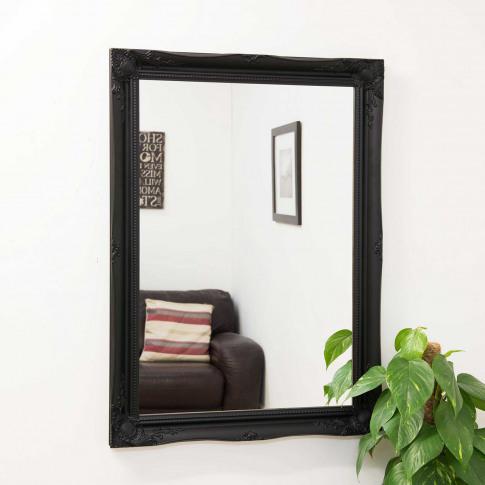Mirror Outlet Hamilton  Wall Mirror, Black