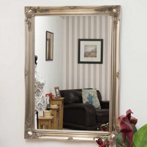 Mirror Outlet Hamilton  Wall Mirror, Silver