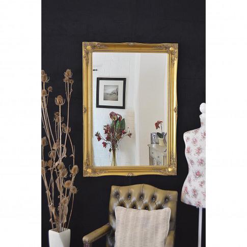 Mirror Outlet Hamilton  Wall Mirror, Gold