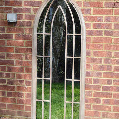 Mirror Outlet Somerley  Garden Mirror, Natural