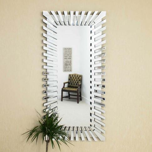 Mirror Outlet Starburst Frameless Mirror