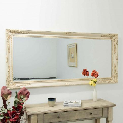 Mirror Outlet Buxton Ivory Mirror
